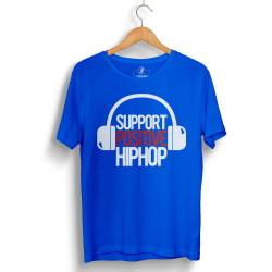 HH - Support Positive HipHop Mavi T-shirt - Thumbnail