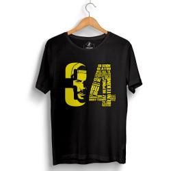 Tankurt Manas - HollyHood - Tankurt 34 Siyah T-shirt