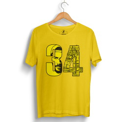 Tankurt Manas - HollyHood - Tankurt 34 Sarı T-shirt