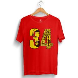Tankurt Manas - HollyHood - Tankurt 34 Kırmızı T-shirt