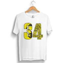 Tankurt Manas - HollyHood - Tankurt 34 Beyaz T-shirt