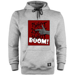 HH - Tankurt Boom Cepli Hoodie - Thumbnail