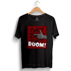 HH - Tankurt Boom Siyah T-shirt - Thumbnail