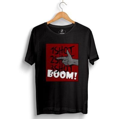 Tankurt Manas - HH - Tankurt Boom Siyah T-shirt