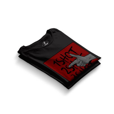 HH - Tankurt Boom Siyah T-shirt