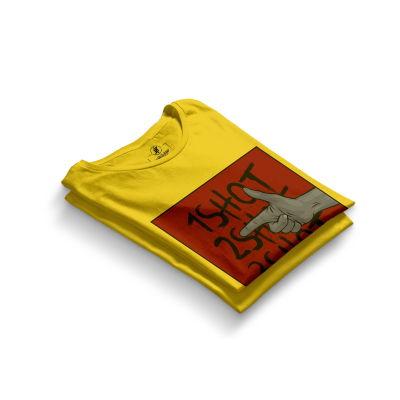 HH - Tankurt Boom Sarı T-shirt