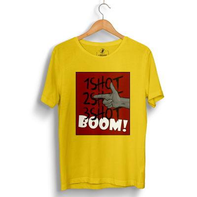 Tankurt Manas - HH - Tankurt Boom Sarı T-shirt