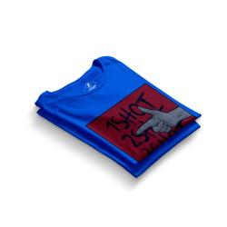 HH - Tankurt Boom Mavi T-shirt - Thumbnail