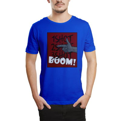 HH - Tankurt Boom Mavi T-shirt