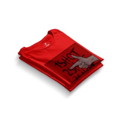 HH - Tankurt Boom Kırmızı T-shirt