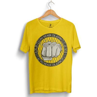 HH - Tankurt Bu Benim Olayım Sarı T-shirt