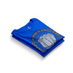 HH - Tankurt Bu Benim Olayım Mavi T-shirt - Thumbnail