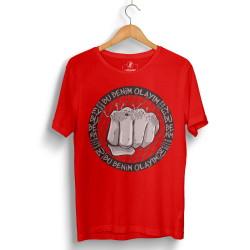 HH - Tankurt Bu Benim Olayım Kırmızı T-shirt - Thumbnail