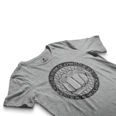 HH - Tankurt Bu Benim Olayım Gri T-shirt