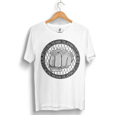 HH - Tankurt Bu Benim Olayım Beyaz T-shirt