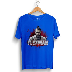 Tankurt Manas - HollyHood - Tankurt Flexman Mavi T-shirt