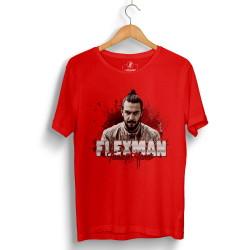 Tankurt Manas - HollyHood - Tankurt Flexman Kırmızı T-shirt