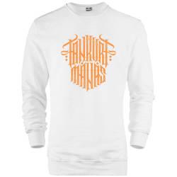 HH - Tankurt Manas Tipografi Sweatshirt - Thumbnail