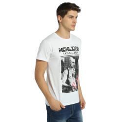 Bant Giyim - Taxi Driver Beyaz T-shirt - Thumbnail