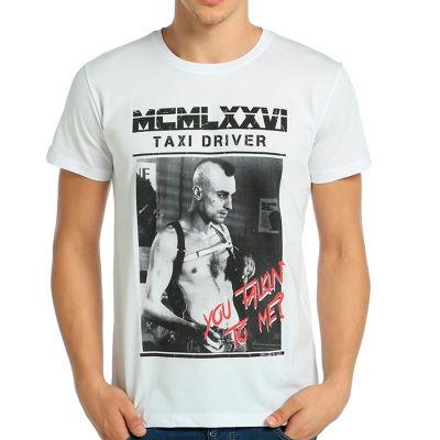 Bant Giyim - Taxi Driver Beyaz T-shirt
