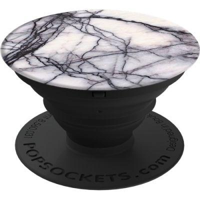 PopSockets White Marble Telefon Tutacağı