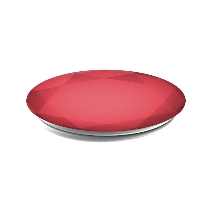PopSockets Red Metallic Diamond Telefon Tutacağı - XS