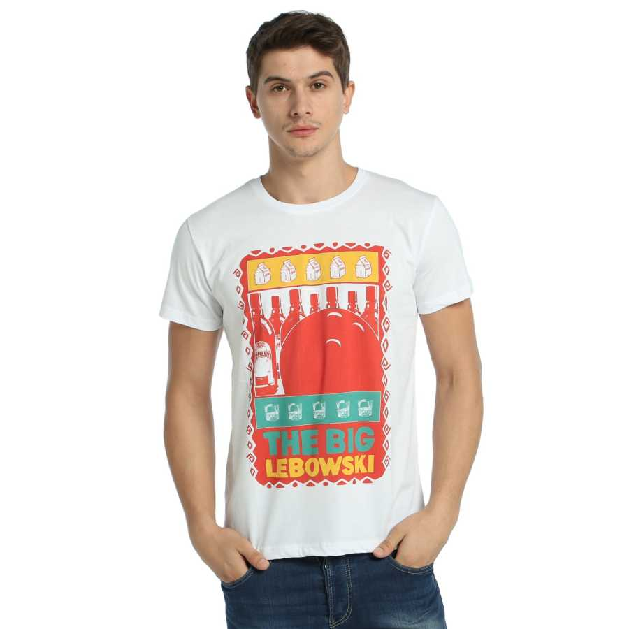 Bant Giyim - The Big Lebowski Beyaz T-shirt