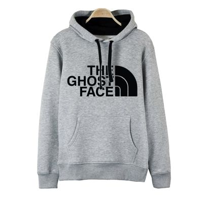 HH - The Ghost Face Gri Cepli Hoodie