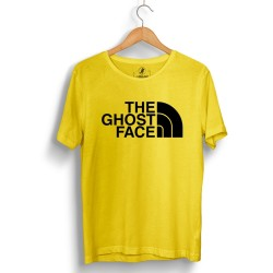 HH - The Ghost Face Sarı T-shirt - Thumbnail