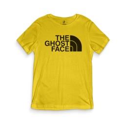 HH - The Ghost Face Sarı T-shirt - Thumbnail