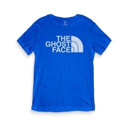 HH - The Ghost Face Mavi T-shirt - Thumbnail