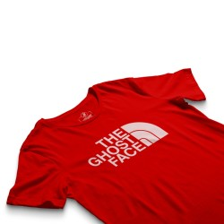 HH - The Ghost Face Kırmızı T-shirt - Thumbnail