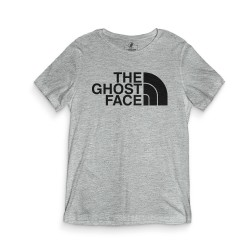 HH - The Ghost Face Gri T-shirt - Thumbnail