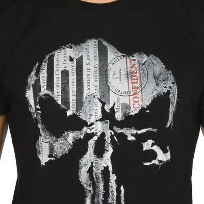 Bant Giyim - The Punisher Siyah T-shirt