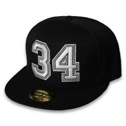 HollyHood - 34 Siyah Snapback Cap