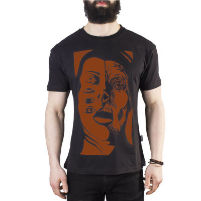 The Roof - Decay Black / Orange T-shirt