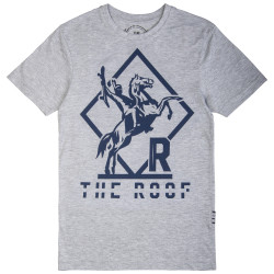 The Roof - Indian Warrior Gri T-shirt - Thumbnail