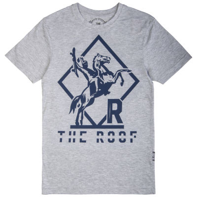The Roof - Indian Warrior Gri T-shirt