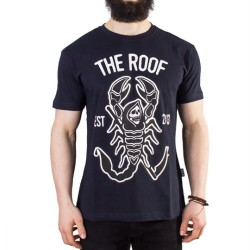 The Roof - The Roof - Scorpion Lacivert T-shirt