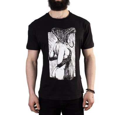 The Roof - Snake Girl Black T-shirt