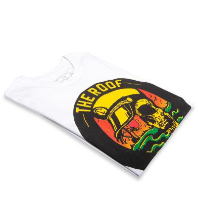 The Roof - Captan Skull Beyaz T-shirt