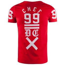 Thug Life - Chef 99 Kırmızı T-shirt - Thumbnail