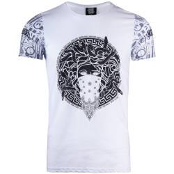 Thug Life - Thug Life - Crime Gods Ghedto Beyaz T-shirt