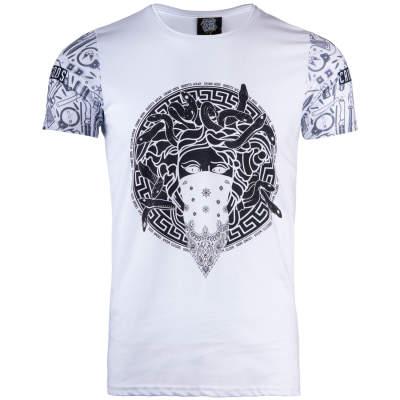 Thug Life - Crime Gods Ghedto Beyaz T-shirt