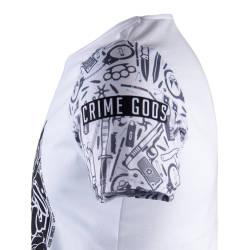 Thug Life - Crime Gods Ghedto Beyaz T-shirt - Thumbnail