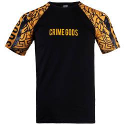 Thug Life - Thug Life - Crime Gods Siyah T-shirt