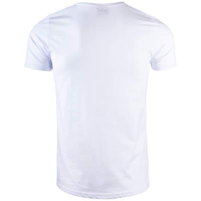 Thug Life - Crime Gods Strip Beyaz T-shirt
