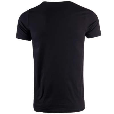 Thug Life - Crime Gods Strip Siyah T-shirt