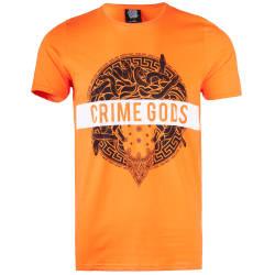 Thug Life - Thug Life - Crime Gods Strip Turuncu T-shirt
