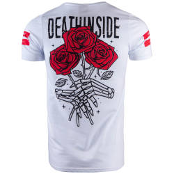 Thug Life - Death İnside Beyaz T-shirt - Thumbnail